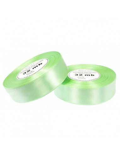 12mm WS8072 Satin Ribbon Light Green...