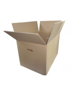 Karton klapowy 60x40x40cm + uchwyty na ręce