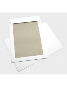 Koperta B4 biała z tekturą 400g 100szt.