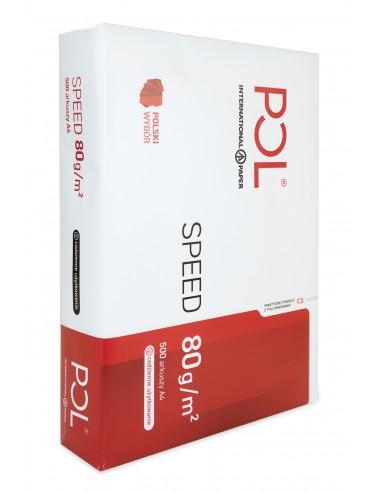 Copy Paper Polspeed 80g White 500 A4