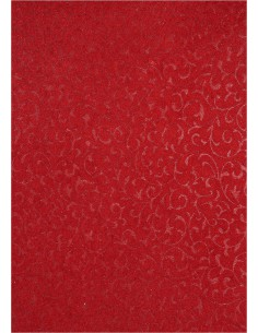 Decorative Paper Red -...