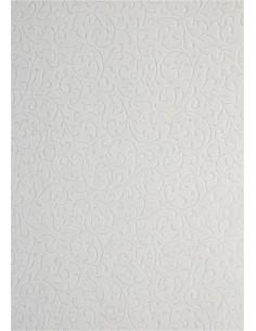 Papier dekoracyjny  biały -...