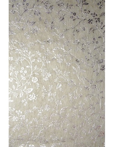 Non-woven Fabric Ecru - Silver...
