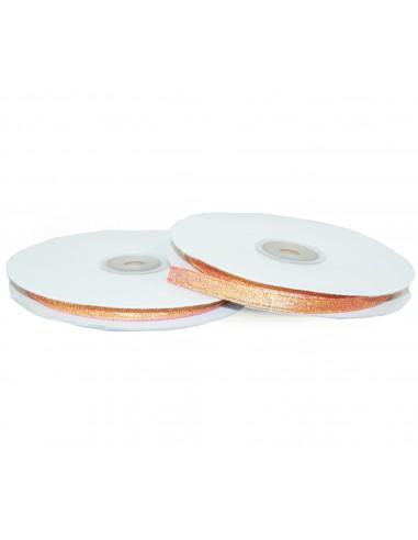 Glitter Ribbon 6mm WB7012 Salmon 32mb